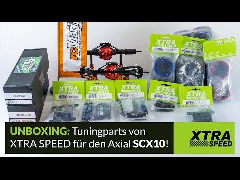 Unboxing: Xtra Speed SCX10 HopUp & Tuning Parts mit Gewinnspiel [HD/Deutsch]