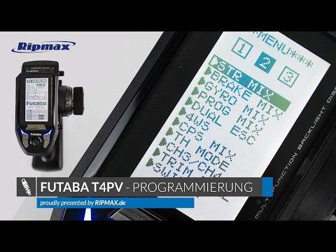 Futaba T4PV - Programmierung & Menüfunktionen [Deutsch/HD]