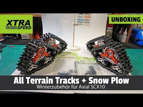 Unboxing - Xtra Speed Snow Tracks und Zubehör