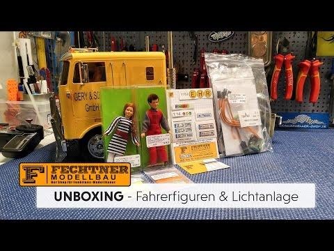 UNBOXING: Fahrerfiguren, Scale Parts und KRAFTWERK Easybus Lichtanlage [HD / Deutsch]