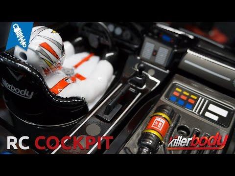 Killerbody RC Cockpit - Interieur unboxing
