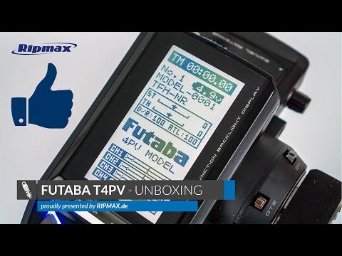 Unboxing: FUTABA T4PV 2.4GHz Fernsteuerung + R304SB [Deutsch/HD]