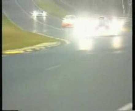 Le Mans 99' Mercedes CLR-GT1 Crash Live