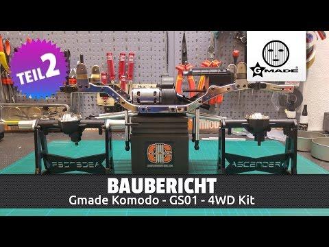 Gmade Komodo 4WD Kit - Baubericht Teil 2/4 (Deutsch / HD)