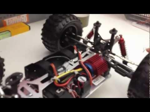 Unboxing + Testfahrt REELY Detonator Brushless 4WD RtR 2.4 GHz