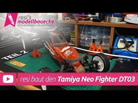 Tamiya Neo Fighter DT-03 2WD Buggy - Lackierung & Bauvideo Teil 2 von Resi
