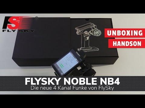 FlySky Noble FS-NB4 - Unboxing und Vorstellung der neuen 4 Kanalfunke!
