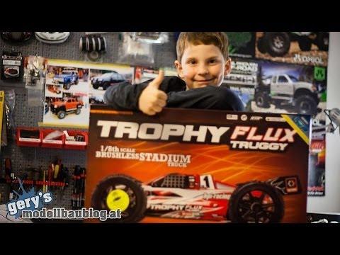 HPI Trophy Truggy Flux - Unboxing & Erste Testfahrt