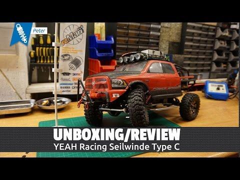 Yeah Racing Seilwinde Type C - Unboxing & Review [HD / Deutsch]