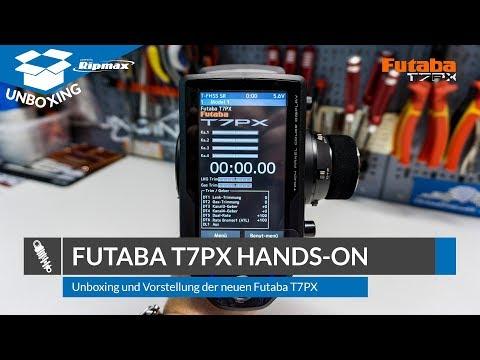 FUTABA T7PX 2.4GHz + R334SBS » Unboxing und Hands-On