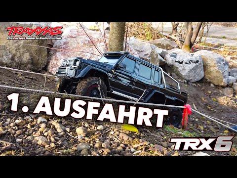 Erste Ausfahrt - Traxxas TRX 6 Mercedes Benz G 63 AMG 6x6 (100% Stock) 4K