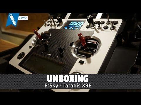 Frsky Taranis X9E - Unboxing [HD / Deutsch]