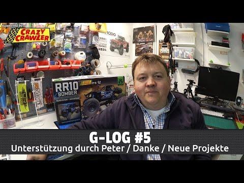 G-LOG #5 – Aktuelle Projekte, Unterstützung durch Peter & 2.200x Danke [HD / Deutsch]