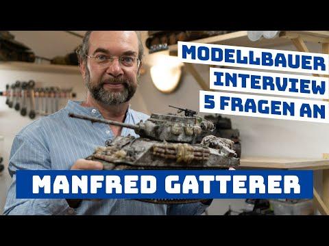 5 Fragen an Scale Modellbauer & Panzerexperte - Manfred | Modellbauer stellen sich vor