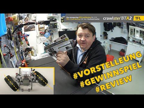 Vorstellung + Gewinnspiel: crawlster® BTA2 LenkSystem für den TFL Racing + Cool Racing Scale Crawler