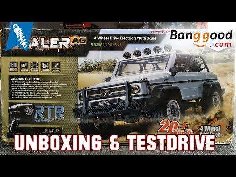 Banggood HG P402 Scale Crawler - Unboxing & Testdrive