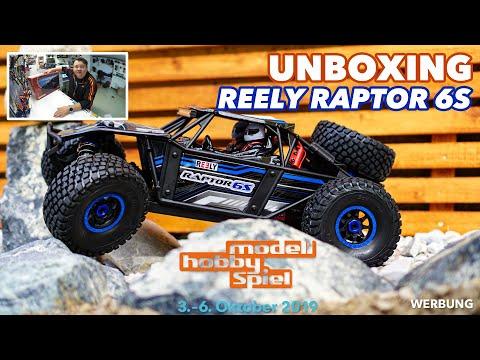 #Unboxing Reely Raptor 6S Brushless | Leipziger Messe – Modell-Hobby-Spiel #mhs19