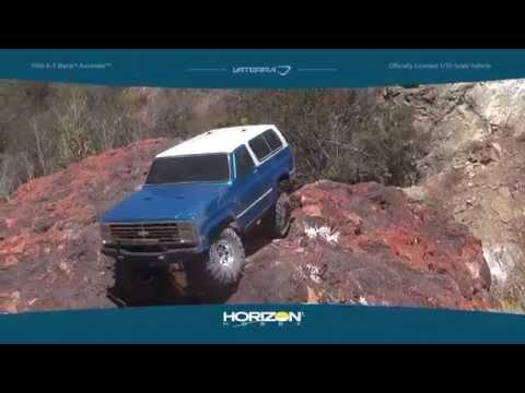 1986 K-5 Blazer Ascender - 1/10 4WD Scale Truck Kit