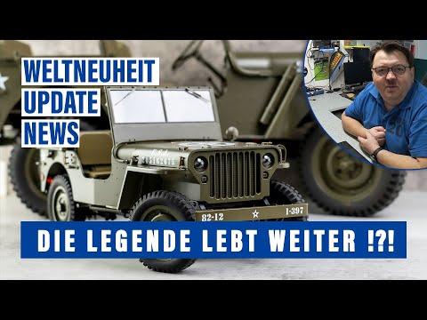 Einfach genial: Die Legende lebt weiter | FMS Willys MB Scaler 1 12 RTR