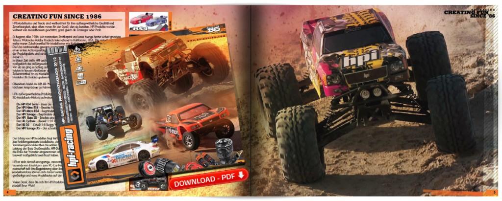 HPI Katalog 2012