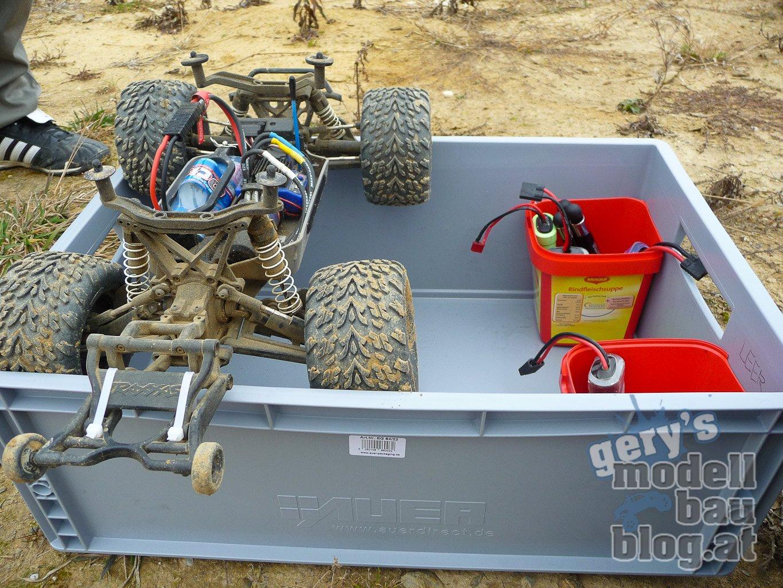 Transportbox (Eigenbau) alles am richtigen Platz