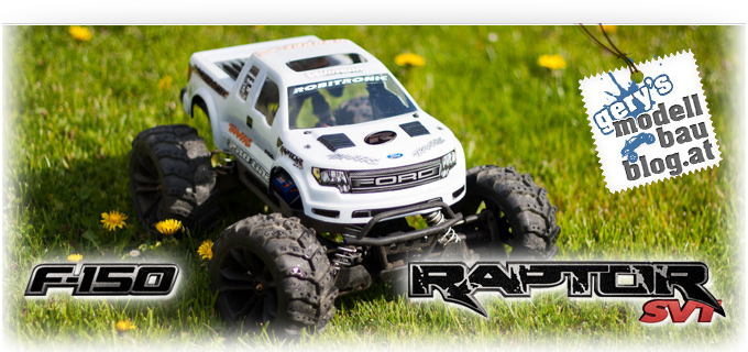 Traxxas Stampede VXL - Ford F150 Raptor - Body
