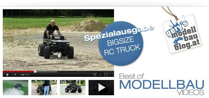 "Best of RC Modellbau Videos ""Spezialausgabe BIGSIZE RC Monstertruck 1/4"""