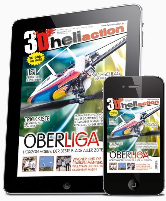 Modellbau Zeitschriften am Handy statt auf Papier!