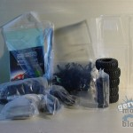 Die Teile aus dem SCX10 Dingo Kit werden nicht benötigt