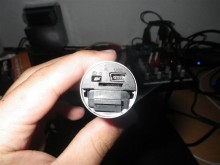 Anschlüsse bzw. Rückseite - Rollei Bullet HD Lite