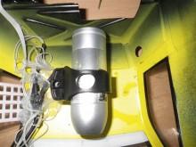 Rollei Bullet HD Lite - Montage am RC Car unter der Karosserie