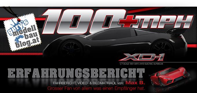 """Erfahrungsbericht TRAXXAS XO-1 — """"Schnellstes RTR Modellauto der Welt"""""""