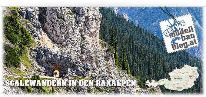 Scale Wanderung in den Raxalpen