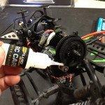 DryFluid Extreme RC-Cars kommt auch bei meinem Axial SCX-10 Honcho zum Einsatz