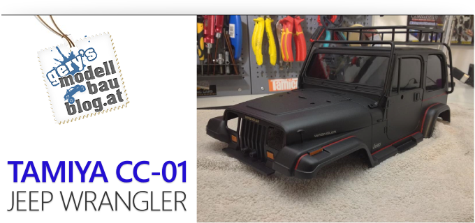 Gery's Jeep Wrangler - Tamiya CC-01/XC