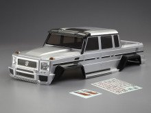 Crawler Body HORRI-BULL (1/10), silberne Karosserie, RTU all-in - Artikel-Nr.: KB48336