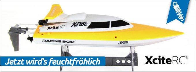 XtideMicroRennboot