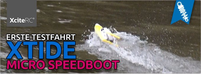 Xtide Micro Rennboot (RTR)