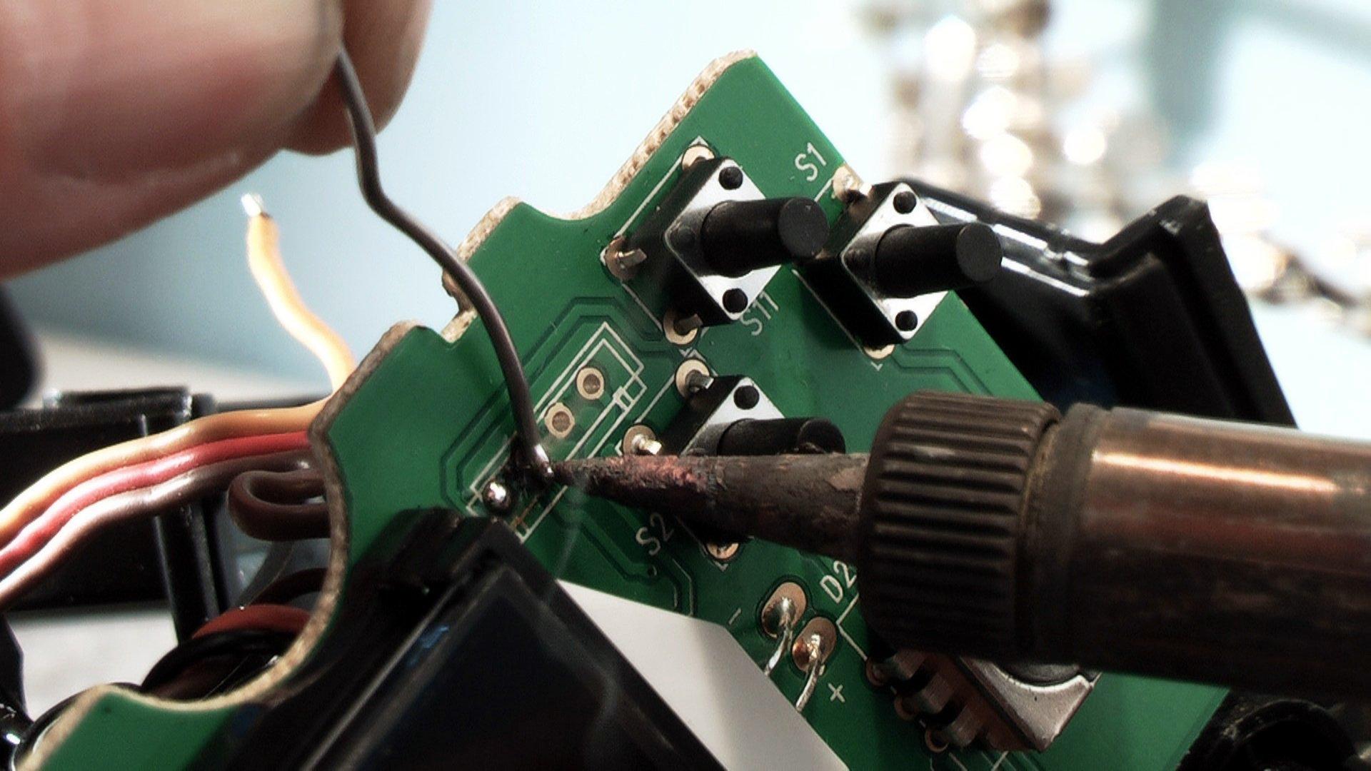 Flysky GT3B Hack - Kabel anlöten