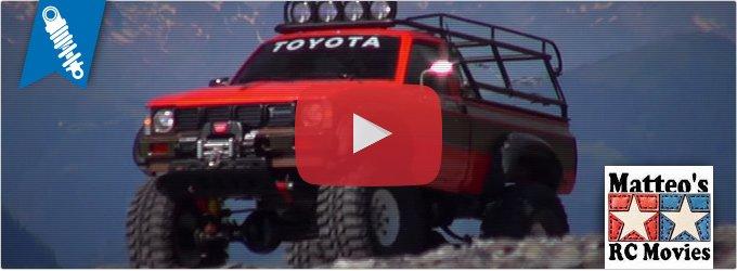 Tamiya Toyota Hilux High Lift auf einer archäologischen Mission