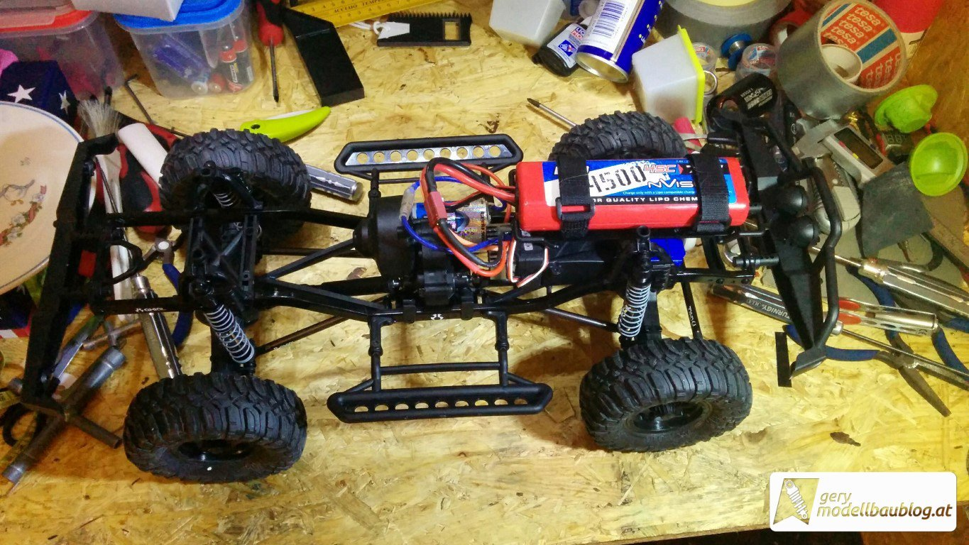 Axial SCX10 Dingo Chassis