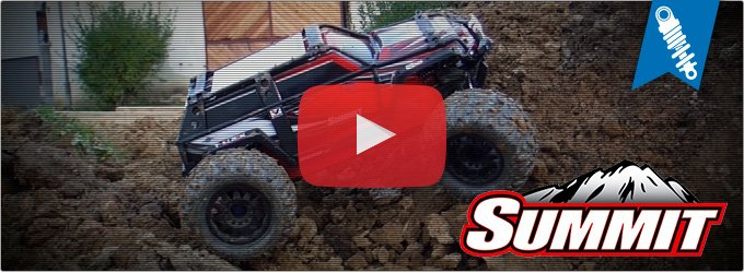 Traxxas Summit - Construction Sites Rock Crawling