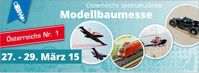 Modellbau Wels, 27. -29. März 2015