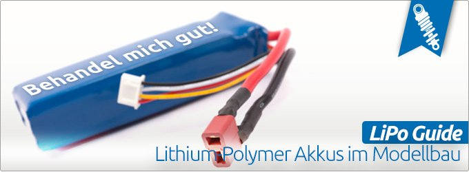 LiPo Guide: Lithium-Polymer Akkus im RC-Car