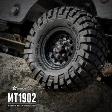"GMADE 1.9"" MT1902 Off-road Tires (2) for 1.9 inch Size Wheels"