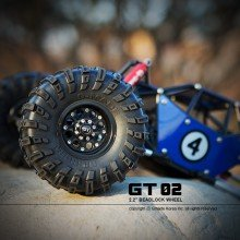 "GMADE - 2.2 "" GT02 Beadlocks (2) for 2.2inch Size Tires"