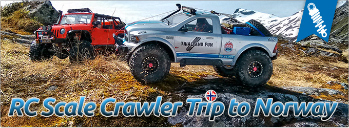 RC Scale Crawler Adventure in Norwegen