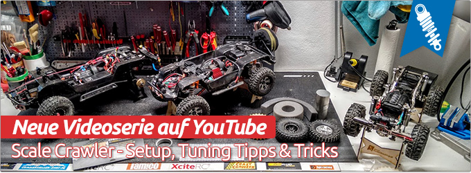 Scale Crawler - Setup, Tuning Tipps & Tricks