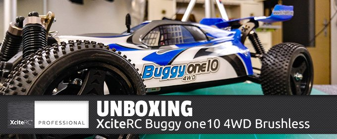 UNBOXING-XciteRC-Buggy-one10-4wd-brushless-rtr