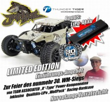 JACKAL 1:10 Brushless 4WD DESERT BUGGY 'RC WaterProof' LIMITED EDITION mit AE WolfPack LiPo 030751